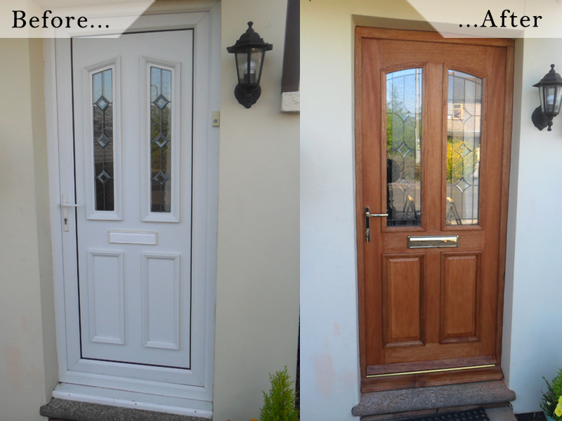 Fitted wooden doors in Rugby