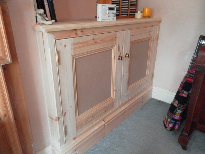 Hand made shelves and storage in Rugby