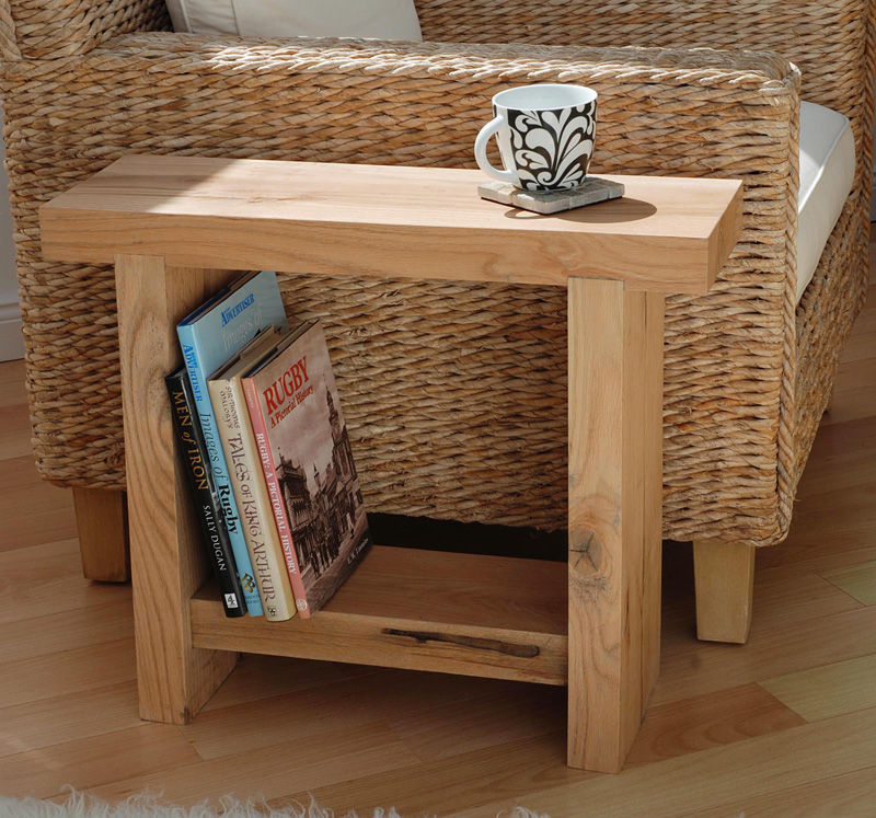 Indoor Oak Sleeper Joinery U003e Side Table